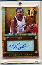 2013/14 PANINI GOLD STANDARD KEVIN DURANT AUTOGRAPH 10/50