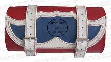 Barilotto pelle USA personalizzato Borsa moto guzzi custom Bobber Harlei honda