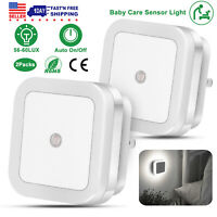 0.5W Auto Sensor Control LED Night Light Wall Lamp Plug-in for Bedroom Hallway