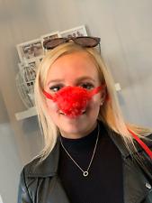 Red Nose Warmer, Red Faux Fur, Secret Santa, Design Registered, Genuine Original