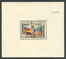 ESPAÑA - AÑO 1938 - EDIFIL 764** - HOJA BLOQUE CONSTITUCIÓN DE EE.UU. - MNH