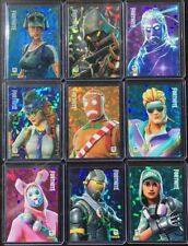 PANINI SERIES 1 FORTNITE Promo HOLO FOIL CRACKED ICE Set P1-P9 Rogue Galaxy Rare