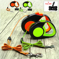 Retractable Dog Leash 26 ft Tape Extendable Walking Leads Small Medium 10/16ft