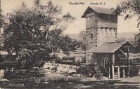Postcard The Old Mill Arcola NJ