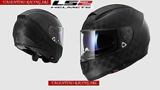 CASCO LS2 FF397 VECTOR CT2 CARBON SINGLE MONO INTEGRALE MOTO MATT Tg. XL 61/62