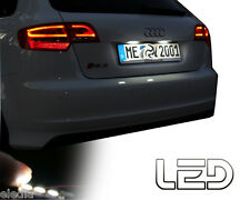 AUDI TT MK1 98-2006  2 Ampoules LED blanc plaque immatriculation Canbus ODB