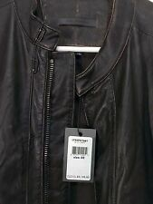 "John Varvatos Collection ""Earth"" Moto Leather Jacket EU 52/US 42 RRP=$2198 BNWT"