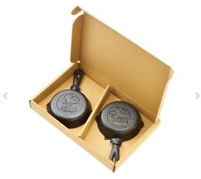PEANUTS SNOOPY Mini Cast Iron Skillet Set of Two PLAZA Limited from JAPAN