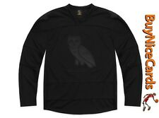 Drake's October's Very Own Team OVO Hockey Jersey Black Size Large Sold Out