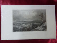 Antique engraving of BRADING TOWARD ST HELENS, ISLE OF WIGHT c1830 Art print