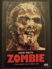 Lucio Fulci's Zombie (DVD 2002) Tisa Farrow Ian McCulloch 1979 Horror Anchor Bay