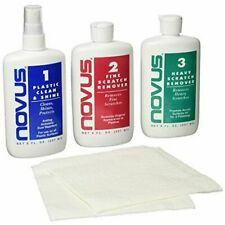 Novus 7100 Plastic Polish Kit, 8 Ounce