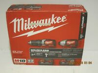 Milwaukee 2799-22CT M18 18-V Lith-Ion Cordless Compact Brushless KIT 2017 NISB!!