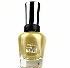Sally Hansen Gold Nail Polish