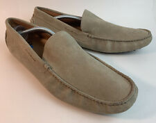Clarks Collection Shoes Brockett Step Suede Men's Loafers Shoes Tan Sz 12 M US