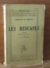 Sibson Les rescapés Albin Michel 1934