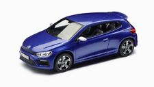 "VW SCIROCCO R 1K8 2.0T 2017 RISING BLUE 18"" CADIZ 1:43 SPARK (OEM DEALER MODEL)"