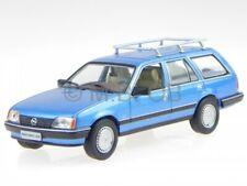 Opel Rekord E Caravan blue modelcar 1:43