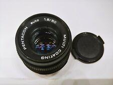 PENTACON Auto Multi coating 50mm 1:1.8 Lens M42 Mount