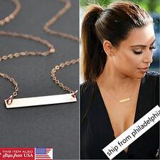 Fashion Charm Women Gold Pendant Bib Chain Choker Chunky Necklace Jewelry XL002