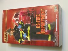 "Blue Box Elite Force US Fire Dept. Emergency Services 1/6th Scale 12"" Figure"