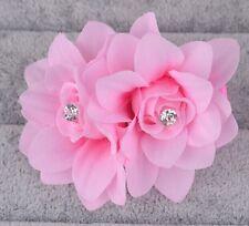 Beautiful Women's Hair Flower Clip Pin Bridal Wedding Prom Party Girls Headwear