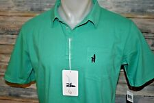 NWT JOHNNIE-O Size 14 Boys S/S Cotton Polo Shirt Green