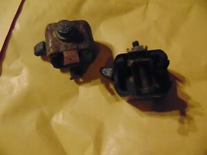 VINTAGE MOTORCYCLE HORN AND DIP SWITCH DIPSWITCH