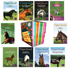Pippa Funnell Tilly's Pony Tails 10 Books Collection Gift Wrapped Slipcase New