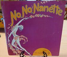 No No Nanette 1972 Souvenir Program Martha Raye, Bobby Van