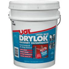 Drylok 27615 Masonry Latex Base Waterproofing Paint, Gray, 5 Gallon