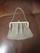 Vintage Sterling Silver Mesh Evening Purse