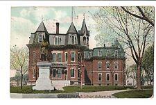 Vintage Postcard Auburn Maine ME Edward Little High School 1907