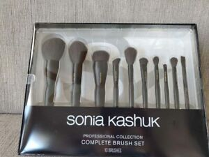 Sonia Kashuk Professional Collection Complete 10 pcs Brush Set Cruelty Free