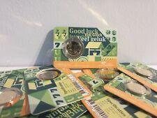 Coincard 10 centimes Euros BU Pays-Bas 2021 Good Luck / Viel Gluck / Veel Geluk