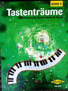 Terzibaschitsch: Tastenträume 3 - mittelschwer bis schwer für Klavier - VHR 3532