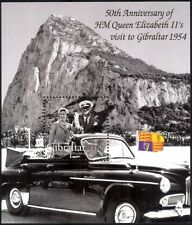 Gibraltar 2004 Queen Elizabeth II/QEII/Royalty/People/Cars/Visit 1v m/s (n18279)