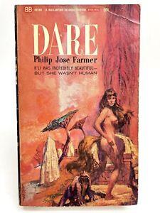DARE Philip Jose Farmer BALLANTINE U2193 Science Fiction 1ST PRINTING