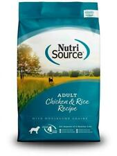 NutriSource Adult Chicken and Rice Dry Dog Food (5lb) FREE SHIPPING