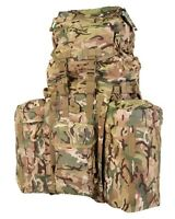 PLCE ISSUE BERGEN 120 LITRES BRITISH MTP BTP CAMO GENUINE ARMY MULTICAM DAY SACK