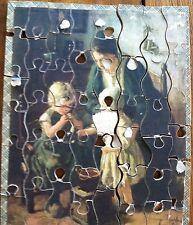 Antique Madmar Puzzle Original Box Artist Pothast Childhood Scroll Saw RARE