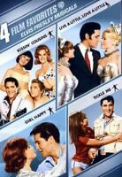 4 FILM FAVORITE - ELVIS PRESLEY MUSICALS USED - VERY GOOD DVD