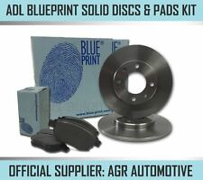 BLUEPRINT REAR DISCS AND PADS 258mm FOR NISSAN ALMERA 1.5 (ABS) 2000-06