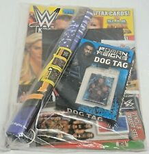 WWE Kids Magazine Issue 154 Topps Slam Attack Universe