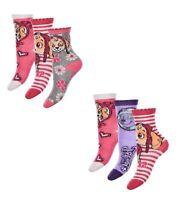 Paw Patrol Socken für Mädchen Skye und Everest 6er Pack verschiedene Motive Neu