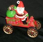 1979+Hallmark+Here+Comes+Santa+1st+Motor+Car+Ornament+-+no+box