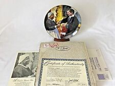 1990 Gone With The Wind Collector's Plate A Toast to Bonnie Blue by H Rogers