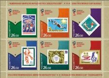 Football Soccer World Cup  FIFA 2018 Russia MNH set of 6 stamps / Booklet