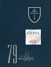 CD File Combat History  79th Infantry Division 10 Lorraine Cross Newspapers PDF