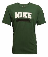 Nike Men's Green Vintage Heritage Banner Athletic Performance Shirt